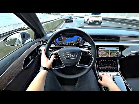The New Audi A8 2018 Test Drive