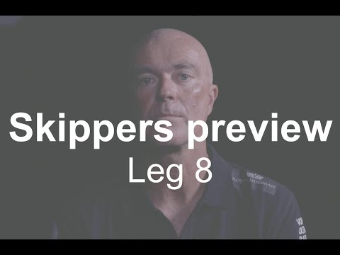 Skippers preview Leg 8 from Itajaí to Newport   Volvo Ocean Race