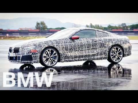 BMW 8 Series Coupé 2018. First real images and test-drive.