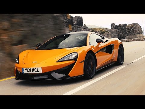 McLaren 570S vs Porsche 911 Turbo vs Audi R8 V10 | Top Gear