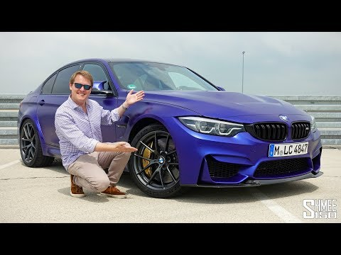 THIS is the New BMW M3 CS!   FIRST DRIVE