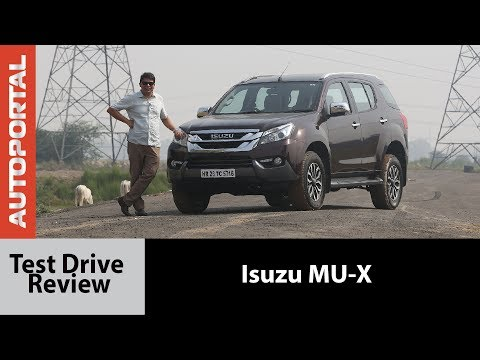 Isuzu MU-X Test Drive Review - Autoportal