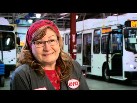 BYD Lancaster Bus Factory