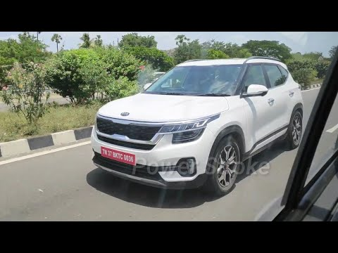 #FirstOnYoutube Kia SELTOS in Action | High Speed 140+ kmph | Chased by HEXA