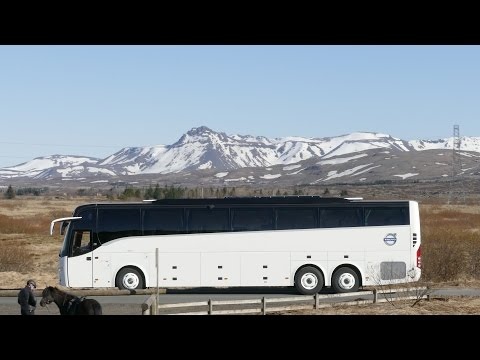 Volvo 9900 VIP Coach in Iceland