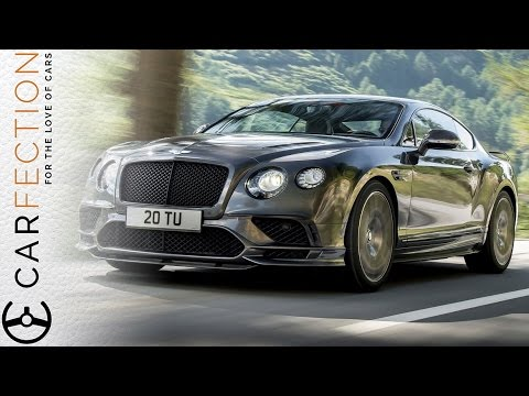Bentley Continental Supersports: British Luxury At 209mph - Carfection