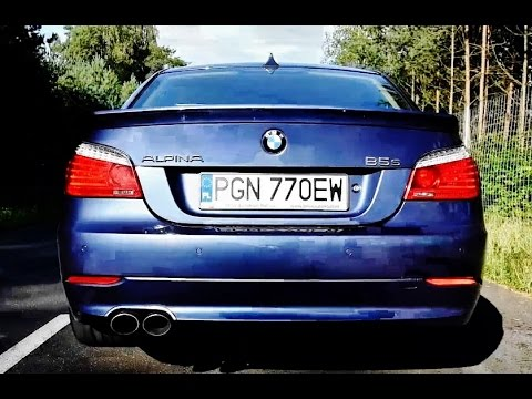 BMW Alpina B5S (E60) acceleration sound and fly-by