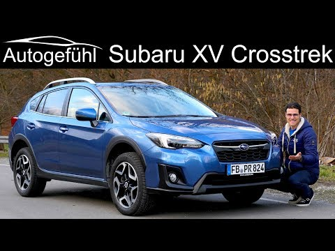 Subaru XV Crosstrek FULL REVIEW all-new generation neu 2019 2018 - Autogefühl