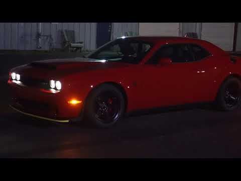 Dodge Demon - TransBrake Practice Required To Achieve Best Results