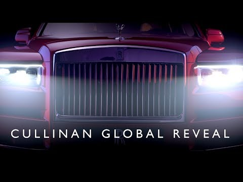 Rolls-Royce Cullinan: Global Reveal