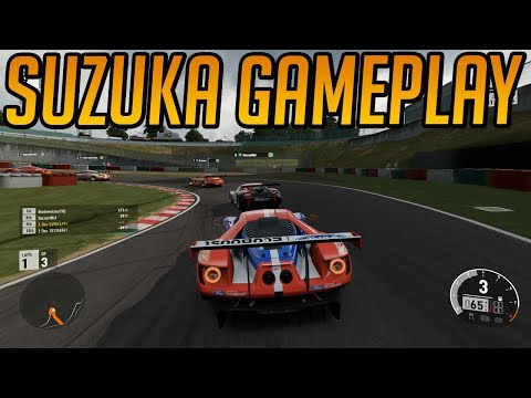 Forza 7 Gameplay: Suzuka Ford GT Le Mans (Unbeatable AI)