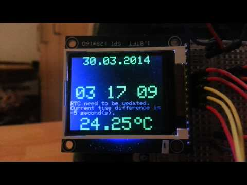 Wise Clock 4 - time synchronization with GPS