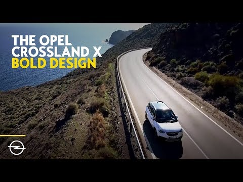 The all-new Opel #Crossland X I Bold, crisp and x-tremely cool
