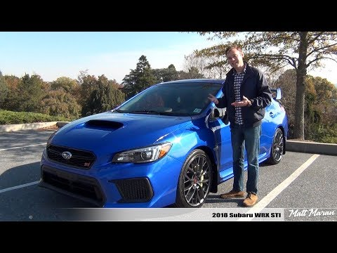 Review: 2018 Subaru WRX STI - As Fun As Ever