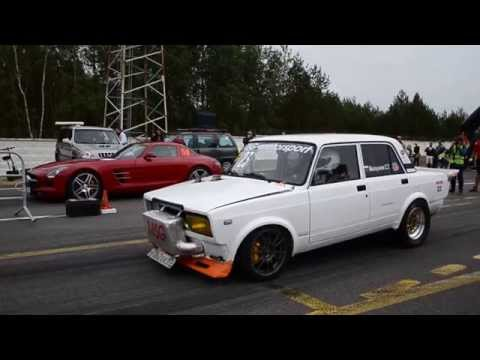 LADA 2107 vs Mercedes-Benz SLS AMG