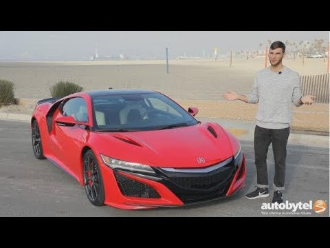 2017 Acura NSX In-Depth Review and Test Drive