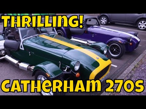 Picking Up A Caterham Seven 270S!