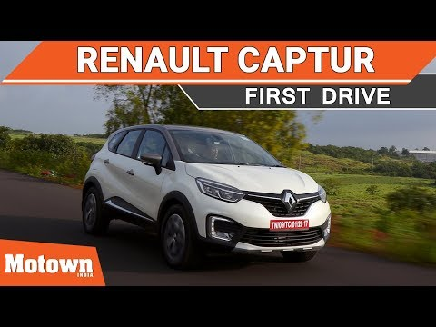 Renault Captur premium SUV | First Drive | Motown India