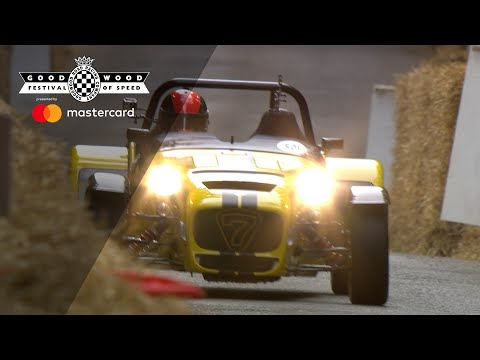 Caterham Seven 620R on the ragged edge at FOS