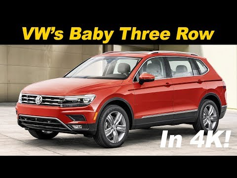 2018 Volkswagen Tiguan Review and Road Test In 4K UHD!