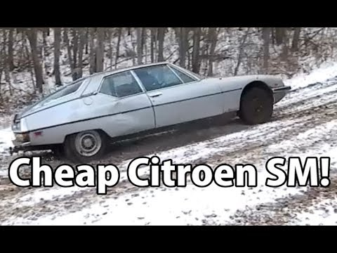 """""""Will it Run?"""" Special: Ultimate Daily Challenge: Cheap Citroen SM! Part 1: Prologue"""