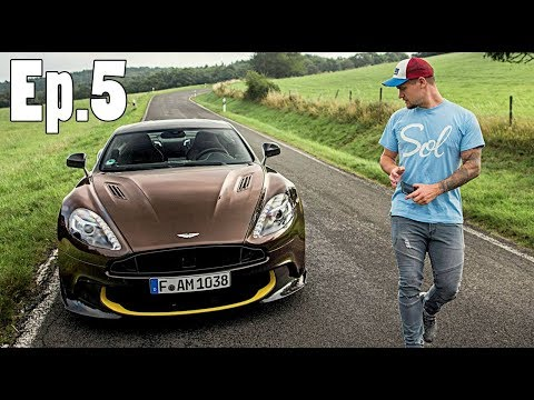 HIGH SPEED Autobahn | Aston Martin Vanquish S!!
