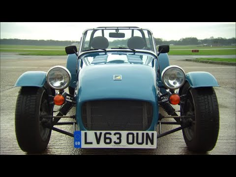 James May and The Stig on the Caterham | Top Gear | Series 21 | Behind the Scenes