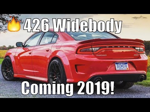 Widebody Hellcat Charger Coming! Dodge is VERY Sneaky!