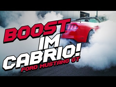 JP Performance - Boost im Cabrio! | Ford Mustang GT Cabrio
