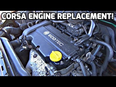 Vauxhall Corsa Engine Replacement!