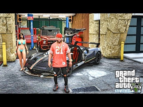GTA 5 REAL LIFE MOD #494 MY AUNT MIGHT BE A SNITCH!!! (GTA 5 REAL