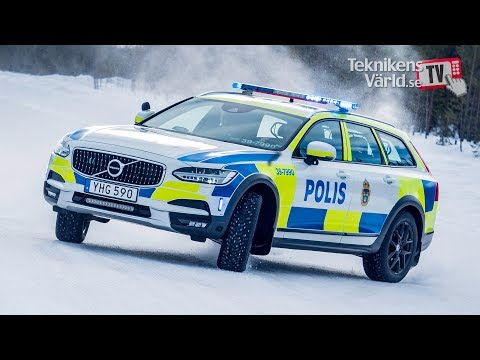 World Exclusive: Volvo V90 Cross Country Police Car [Swedish]