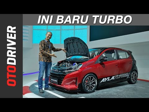 Daihatsu Ayla Turbo Concept 2018 | First Impression | OtoDriver | Supported by GIIAS 2018