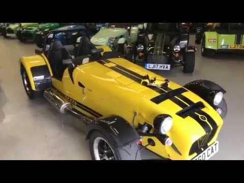Collecting my new Daily - the Caterham 620R