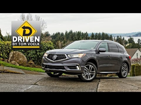 2017 Acura MDX Sport Hybrid Car Review