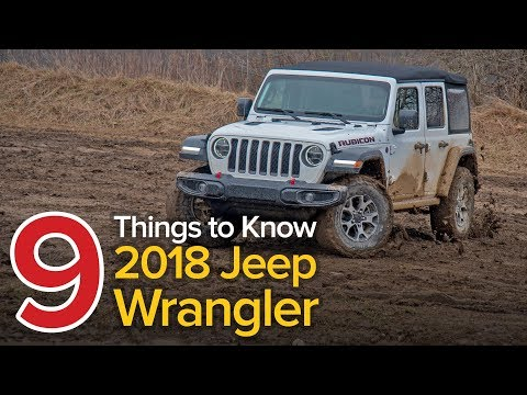 9 Things to Know About the 2018 Jeep Wrangler Unlimited Rubicon: The Short List