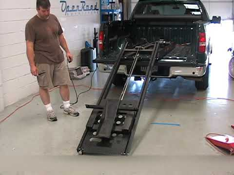 power lift motorcycle trailer ramps from rampage lifts