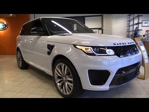 Land Rover Range Rover Sport SVR 2017 Start Up, Exhaust, In Depth Review Interior Exterior