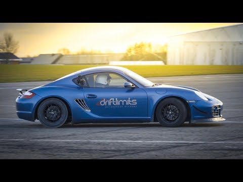 Learning To Drift With a Porsche Cayman
