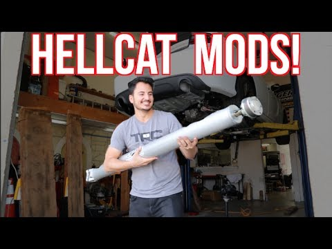 K&N MADE HOW MUCH HP?! - 2017 Dodge Hellcat First Mods!