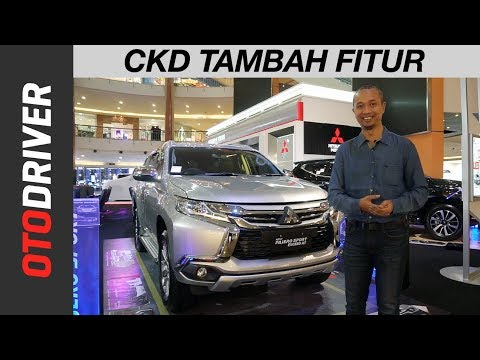 Mitsubishi Pajero Sport Exceed 4x2 CKD 2018 | First Impression  Indonesia | OtoDriver