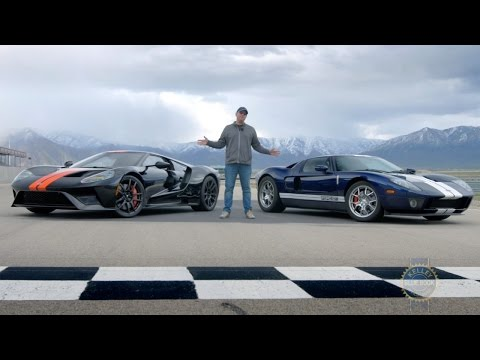 2017 Ford GT vs. 2005 Ford GT