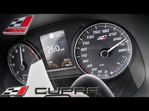Seat Leon Cupra 300 ACCELERATION & TOP SPEED 0-260km/h by AutoTopNL