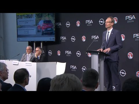 """Opel/Vauxhall """"PACE!"""" Strategic Plan Unveiled   Full Press Conference at Rüsselsheim"""