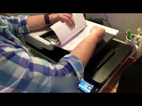 Fixing Paper Jams on HP Scanjet Flatbed Scanners with an ADF
