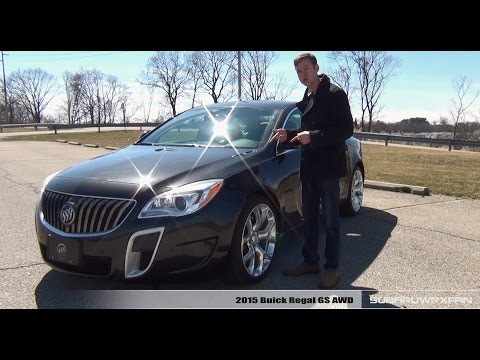Review: 2015 Buick Regal GS AWD