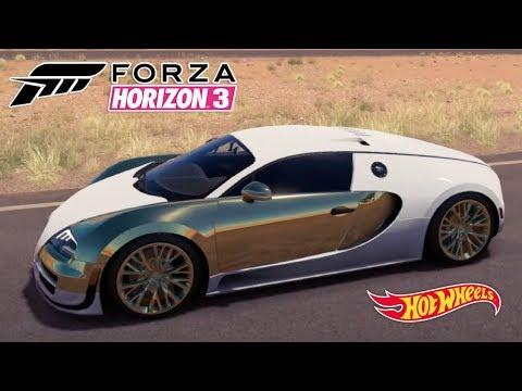 Bugatti Veyron mais de 430 km Forza Horizon 3 Hot Wheels