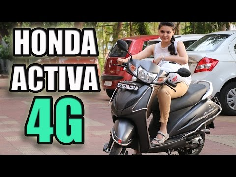HONDA ACTIVA 4G REVIEW and COMPARISON with Activa 3G [NEW]