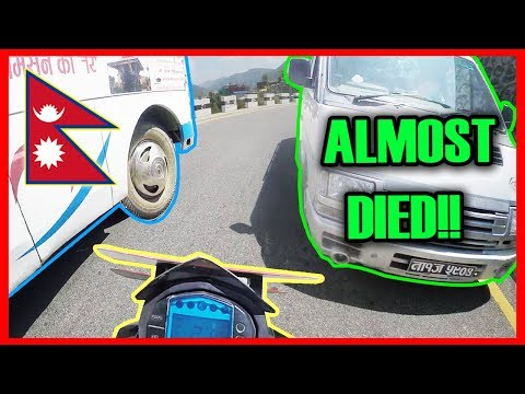 I ALMOST DIED | KTM DUKE 200 | DEADLY CLOSE CALL