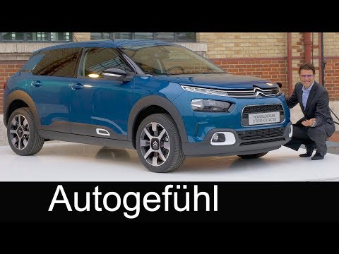 Citroen C4 Cactus 2018 new Facelift REVIEW Premiere PHC Hydraulic suspension - Autogefühl